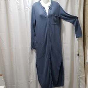 Free People long sleeve dress Size M
